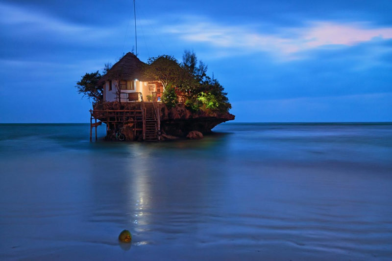 The Rock Restaurant in Zanzibar