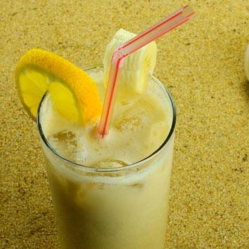 Banana Snowman cocktail