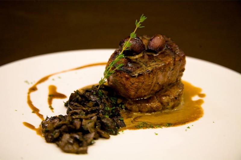 beef and mushroom dish