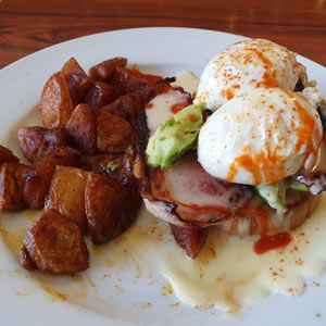 The Rookery eggs benedict