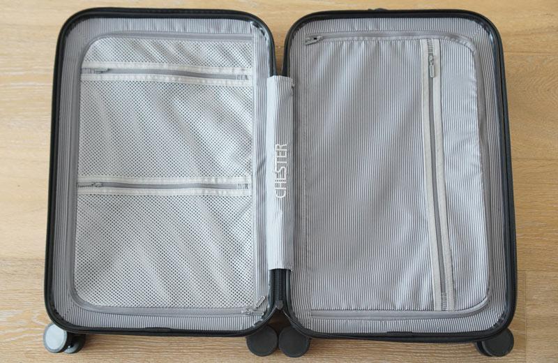 suitcase interior