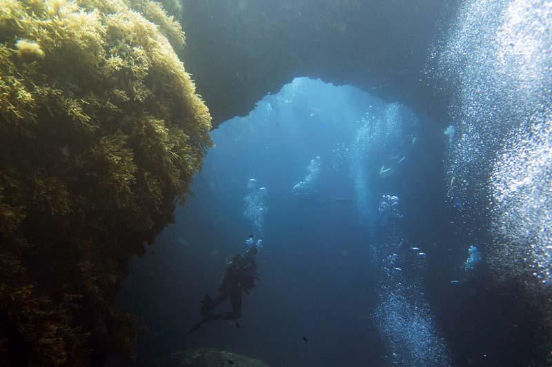 Submerged Azure Window