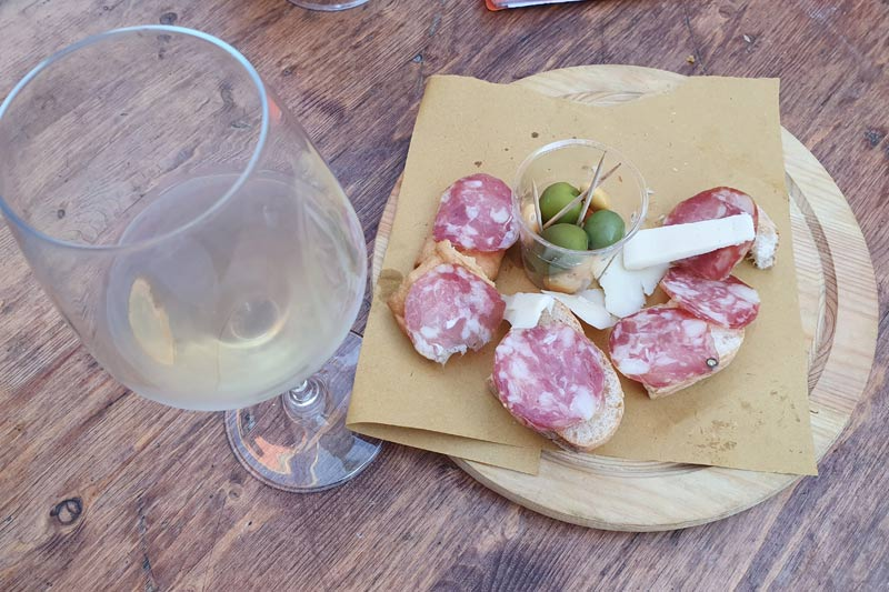Campania wine