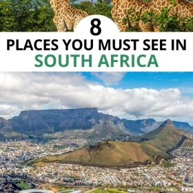 places you must see in south africa