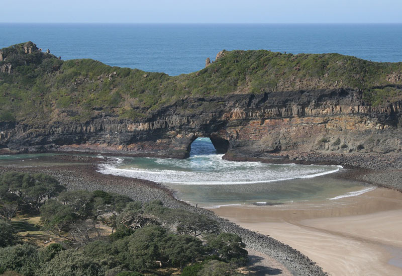The Transkei coastline