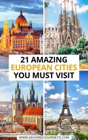 21 Amazing European Cities You Must Visit