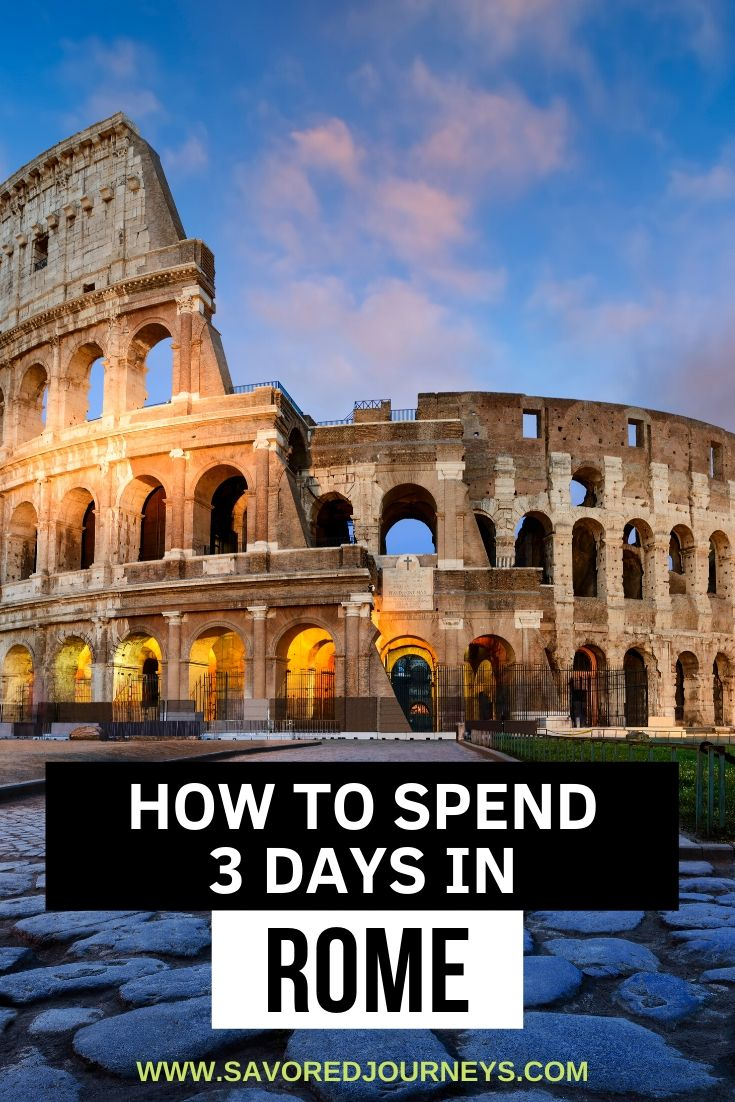What to do in Rome in 3 days