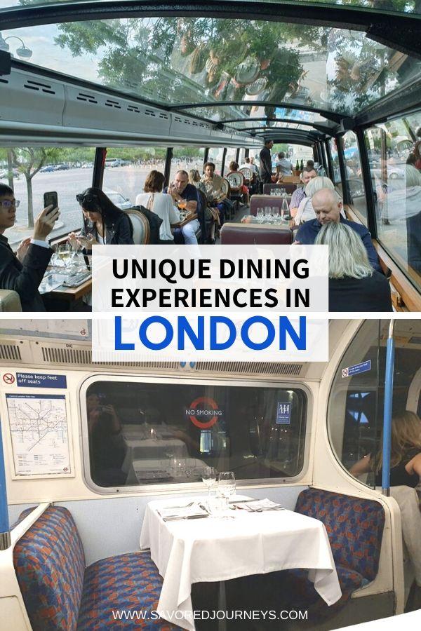 fun restaurants in London