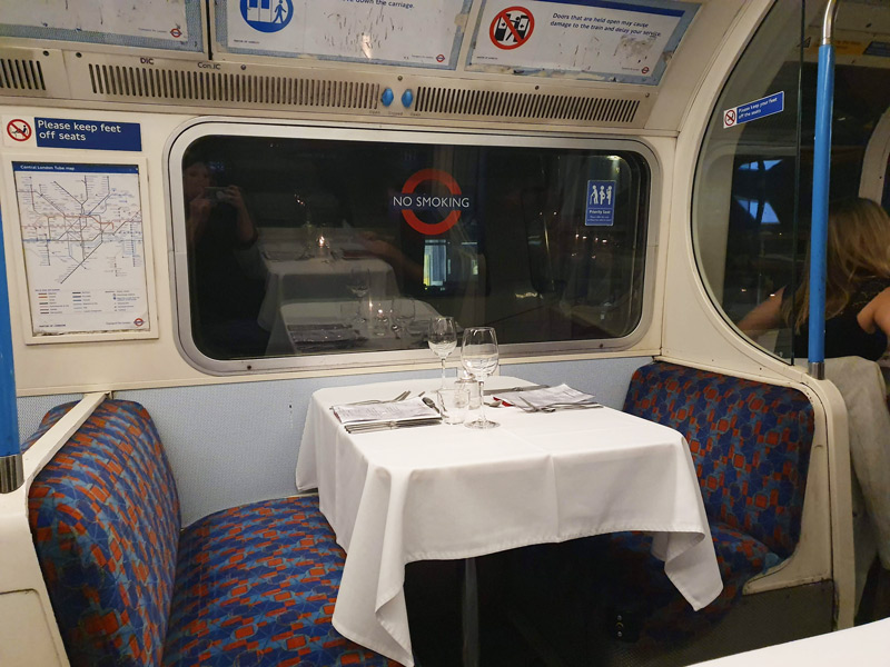 Supper Club on the Tube