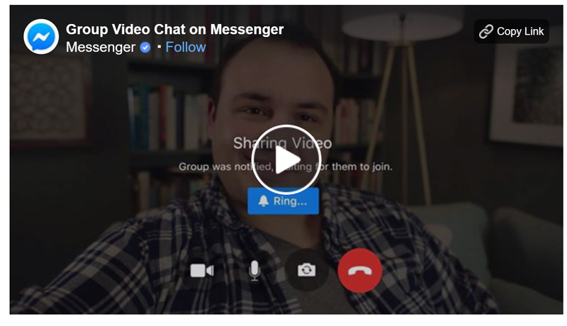 facebook messenger video
