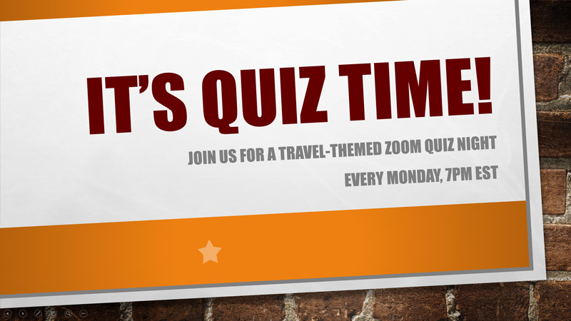 Zoom Quiz