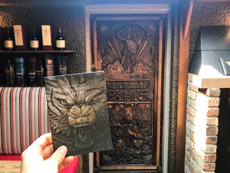 Game of Thrones doors passport