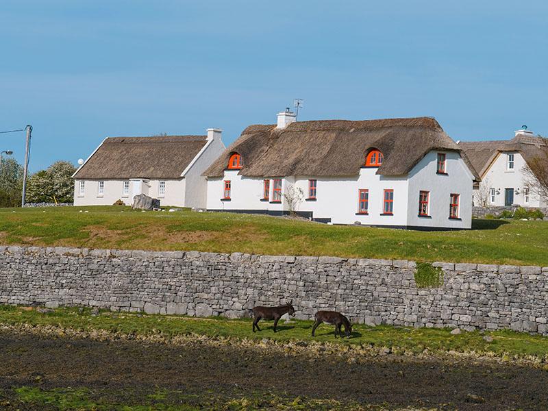 Ballyvaughn Village (photo by Susan of Luxury Columnist)