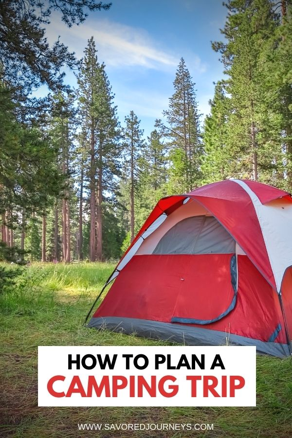 How to Plan a Car Camping Trip