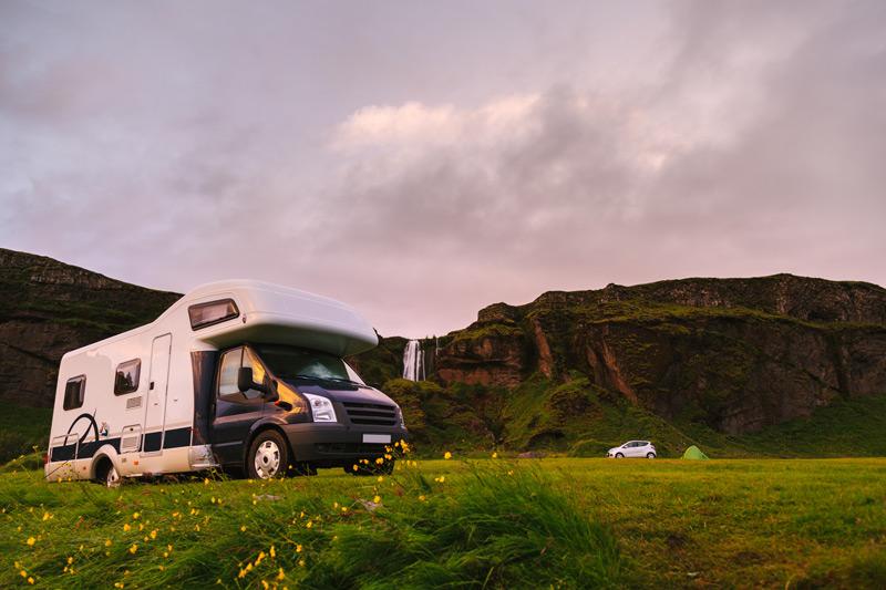 camper van rental in Iceland