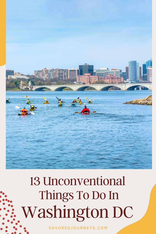 Kayaking on the Potomac River