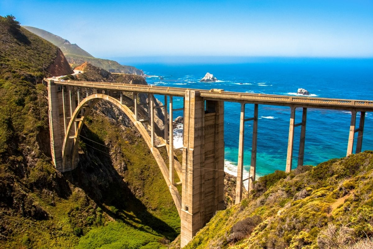 big sur drive in california