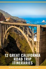 California Road Trip Itineraries