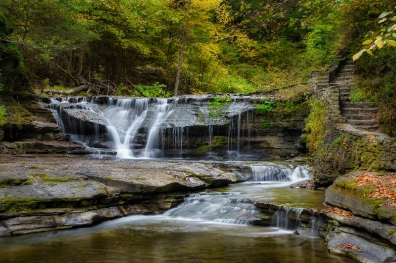 Waterfall in the Finger Lakes