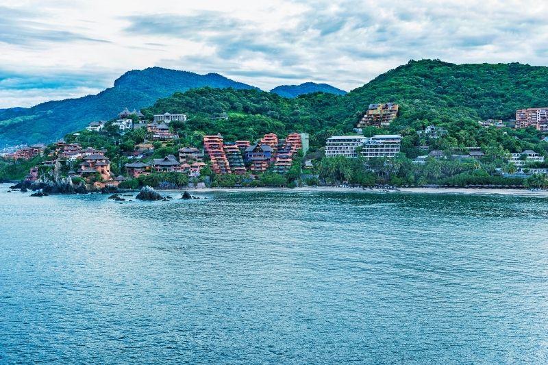 city along the coast