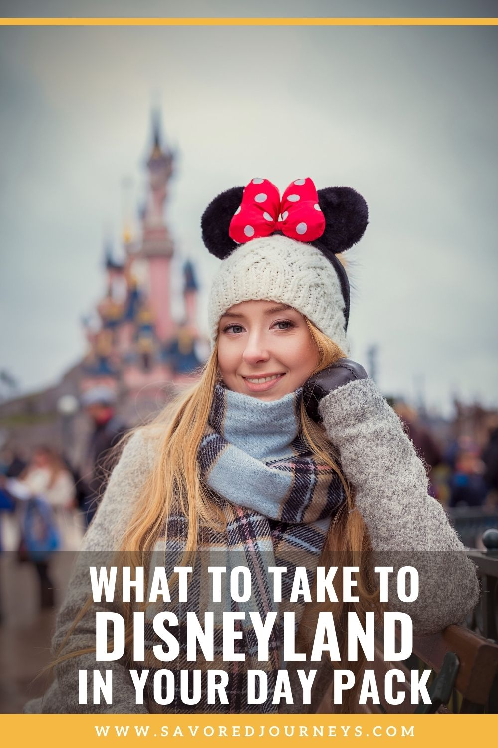 What to Bring to Disneyland in your Day Pack