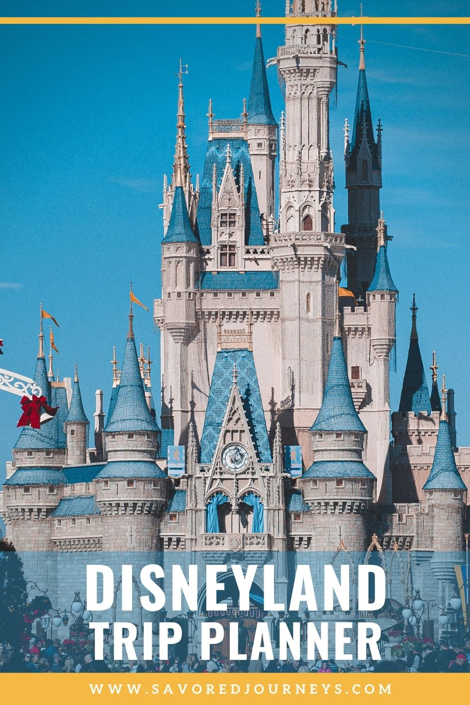 disneyland trip planner