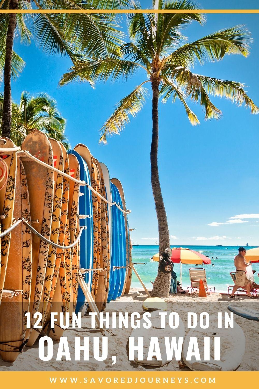 12 Fun Things to Do in Oahu, Hawaii
