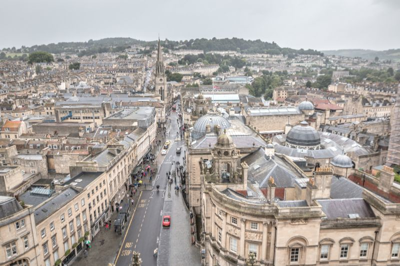 The town of Bath, England