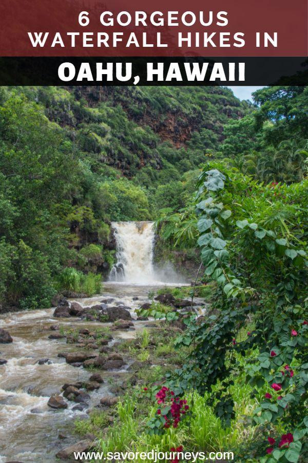 6 Gorgeous Waterfall Hikes in Oahu, Hawaii