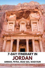 Jordan itinerary